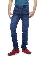 Savon Mens 16117 Slim Fit Stretch Blue Denim Jeans For Men