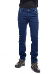 Savon Mens Ni11091 Slim Fit Stretch Blue Denim Jeans For Men