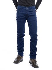 Savon Mens Ni10292 Slim Fit Stretch Blue Denim Jeans For Men