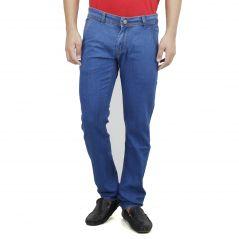 SAVON Mens Slim Fit Blue Denim Jeans For Men (Product Code - SH507107-01)