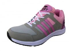 Women's Footwear - Port Turbo Pink Out-door Casual Shoes For Women-turbo_1