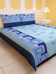 Sai Arpan's Polycotton Double Bed Sheet With Pillow Covers - Home & Kitchen