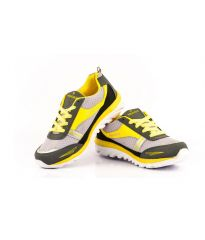 Provogue 1065 Grey And Yellow Running Sports Shoes