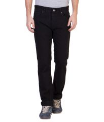 Ruf N Tuf Jeans (Men's) - Ruf & Tuf Stylish Party Casual Black Denim Jeans