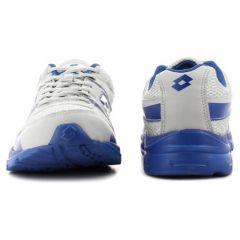 Lotto Pacer Grey Blue Sport Shoes - Ar3172
