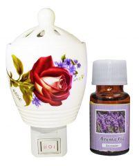 ZARSA Aroma Diffuser With 10ma Aroma Oil - CAPDiffuser_Lavender1pc