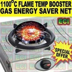Kitchen Utilities (Misc) - 1100c Flame Boost Cooking Lpg Gas Energy Saver Net