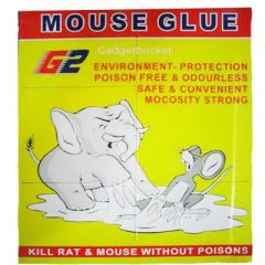 Mouse Glue Pad Kill Rat & Mouse Without Poisons - Set Of 2