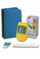 Truworth UA Sure Blood Uric Acid Meter With Test Strips
