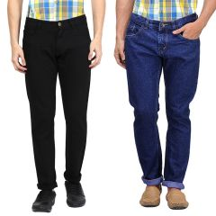 Masterly Weft Be Trendy Men's Jeans Pack Of 2