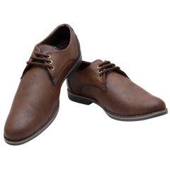 Firemark Brown Casual Shoes For Men (FR-3101-Drk-Brn)
