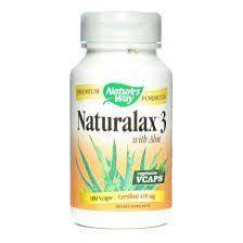 """Nature""""s Way - Naturalax 3, 430 mg, 100 veggie caps"""