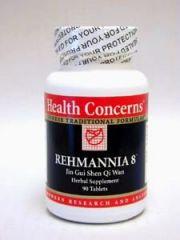 Health Concerns - Rehmannia 8 90 tabs