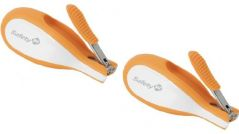 Safety 1st Sleepy Baby Nail Clipper With Built-in LED Light 2 Pack