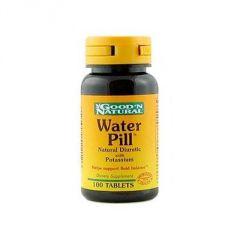 "Water Pill Natural Diuretic with Potassium Good ""N Natural 100 Tabs"