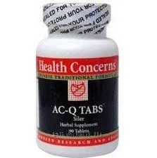 AC-Q Tabs, 90 tablets, Health Concerns