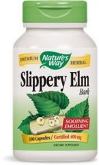 "Nature""s Way - Slippery Elm Bark, 400 mg, 100 capsules"