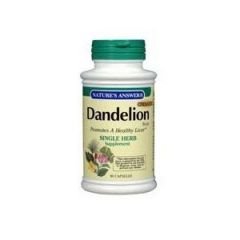 "Nature""s Answer Dandelion Root Vegetarian Capsules, 90-Count"