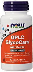NOW Foods GPLC GlycoCarn with CoQ10, 60 Vcaps