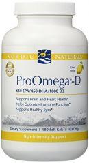 Nordic Naturals - ProOmega D 1000 mg 180 gels