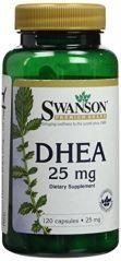 Swanson Premium DHEA 25mg -- 120 Capsules