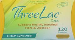 Threelac Caps Probiotic Capsules 120ct