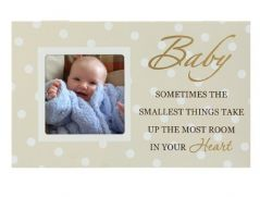 Malden Baby Storyboard Picture Frame, Cream