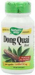 """Nature""""s Way Dong Quai Root -- 100 Capsules / 565 mg"""