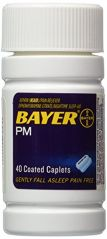 Bayer Health & Fitness - Bayer PM Caplets-40 ct.