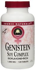 Source Naturals Genistein 1000 Mg (Eternal Woman), 120 Tablets