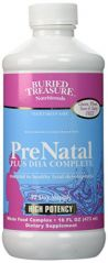 Buried Treasure - Prenatal Plus Dha Complete, 16 fl oz liquid