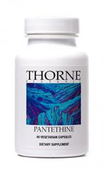 Thorne Research OTC Pantethine Vegetarian Capsules, 60 Count