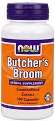 Now Foods Butchers Broom, 100 caps / 500mg (2-Pack)
