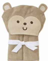 Child of Mine Carters Baby Hooded Bath Towel - Monkey