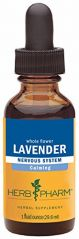 Herb Pharm Certified Organic Lavender Flower Extract for Calming Nervous System Support - 1 Ounce