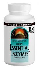 Source Naturals Essential Enzymes 500 Mg Vegetarian Capsules, 120-Count