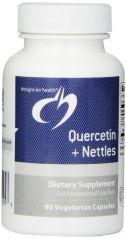 Designs for Health Quercetin Plus Nettles Vegetarian Capsules, 90 Count
