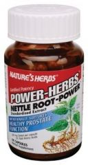 """Nature""""s Herbs Nettle Root-Power -- 300 mg - 60 Capsules"""