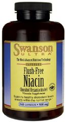 Flush-Free Niacin 500 mg 240 Caps