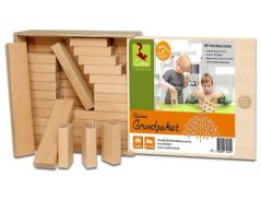 Wooden Blocks Small Basic Package 66 Wooden Building Blocks