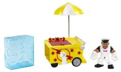 WWE Rumblers Slam City CM Punk Blast ?N Smash Cart Playset