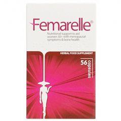 Femarelle Menopause/Bone Health Capsules, 56 Count