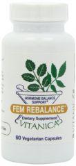 Vitanica Fem Rebalance Capsules, 60-Count