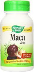 """Nature""""s Way Maca Root, 525 mg., 100 Capsules"""