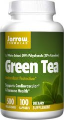 Jarrow Formulas - Green Tea 5:1, 500 mg, 100 capsules