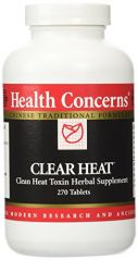 Health Concerns Clear Heat - 270 Tablets