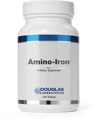 Douglas Labs - Amino-Iron 18 mg 100 tabs [Health and Beauty]