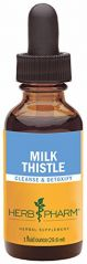Herb Pharm Milk Thistle Seed Extract for Liver Function Support - 1 Ounce