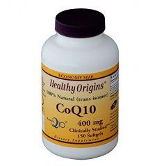 Healthy Origins kaneka COQ10 Gels, 400 Mg, 150 Count