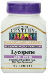 21st Century Lycopene 25 Mg Tablets, 60-Count